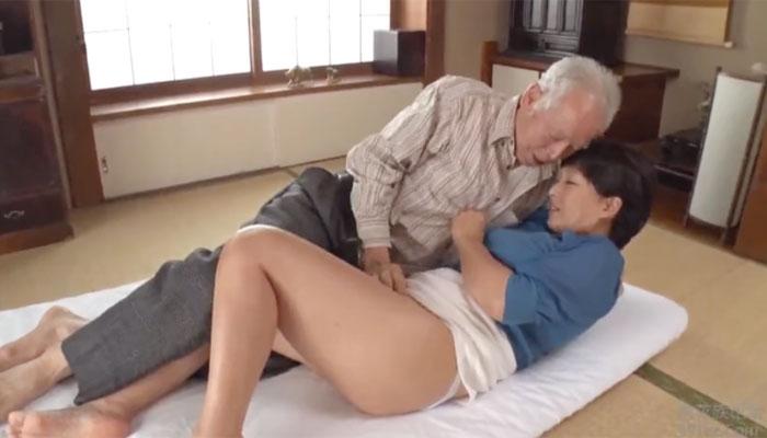 熟女義父セックス