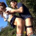 【青姦】「今すぐエッチしたいの♡」熟女と野外で開放的なセックス