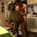 【中出し】巨乳人妻が全裸でお出迎え!美人団地妻と濃厚セックスして中出し